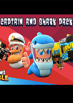 Купить Worms Rumble: Captain & Shark Double Pack