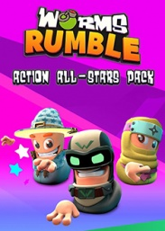 Купить Worms Rumble - Action All-Stars Pack