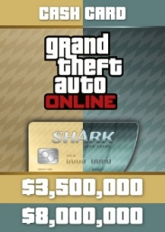Купить GTA Online: Whale Shark & Megalodon Shark Cash Card