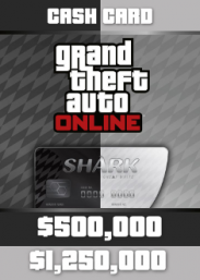 Купить GTA Online: Bull Shark & Great White Shark Cash Card